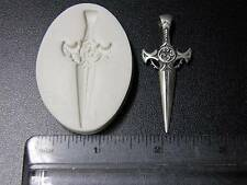 Medieval Sword Polymer Clay Push Mold (#MD1089)