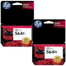 2 Pack Genuine HP 564XL Photo Black Ink Cartridges For Photo Smart