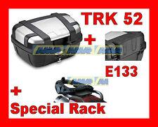 TRIUMPH TIGRE EXPLORER 1200 MALETA BAULETTO TRK52N + MARCO SR6403 + ESPALDERA