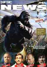 KING KONG Amber Valletta Jason Statham FAMOUS MONSTER SCI-FI Magazine