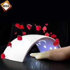 24W LED Light Lamp UV Nail Art Dryer Curing LED Gel Gelish Timer Acrylic Polish