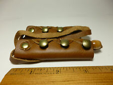 North Star Tan Leather Long Hair Ties-Make Pony Tail Braid Wrap- Made In USA#112