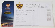 Ticket for collectors EL NK Maribor - Wigan Athletic FC 2013 Slovenia England