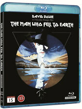 The Man Who Fell to Earth NEW Classic Blu-Ray Disc Nicolas Roeg David Bowie