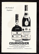 3w2068/ Alte Reklame von 1960 - Cognac COURVOISIER - The Brandy of Napoleon