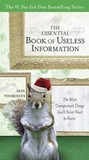 The Essential Book of Useless Information (Holiday Edition): The Most Unimportan