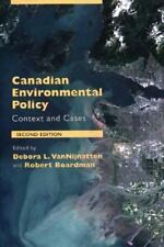 Canadian Environmental Policy : Context and Cases