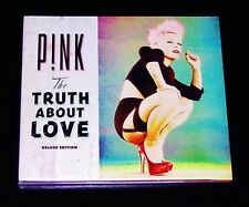 PINK P!NK THE TRUTH ABOUT LOVE DELUXE EDITION CD  NEU & OVP