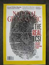 National Geographic July 2016 Great White Shark Criminal Forensics Virunga
