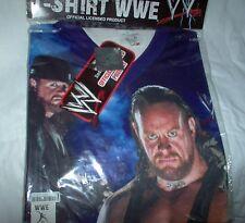 Undertaker-WWE T-SHIRT 100% Polyester Gr.S  --- NEU,RARITÄT,Lizenz