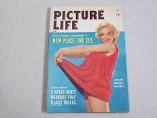 PICTURE LIFE  POCKET MAGAZINE MARILYN MONROE 1955