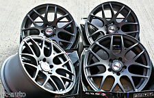 "18"" PDW KAISER ALLOY WHEELS ANTHRACITE CONCAVE STAGGERED 5X120 18 INCH ALLOYS"