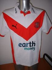 St Helens Puma Adult Small Rugby League Shirt Jersey Top Vintage Old England