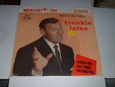 FRANKIE LAINE Sings His All Time Favorites WING LP '60 OG Stereo DG