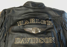 HARLEY DAVIDSON 110TH ANNIVERSARY DISTRESSED 97146-13VM LEATHER JACKET XXXL 3XL