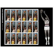 USPS New Wilt Chamberlain Stamp Sheet of 18