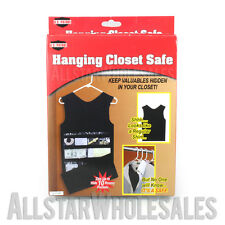 Hanging Closet Safe Diversion Fake Dress Shirt Hidden Clothes Storage Stash Can
