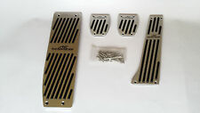 NEW BMW AC Schnitzer alu pedal set E36 E46 E87 E90 E92 manual + footrest  ACS M3