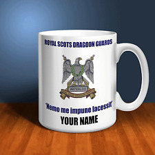 The Royal Scots Dragoon Guards RSDG Personalised Ceramic Mug Army Gift