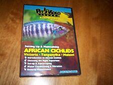 AFRICAN CICHLIDS Victoria Tanganyika Malawi Aquarium Care Feeding Cichlid DVD