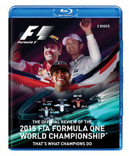 F1 2015 Official Review Blu-ray 2 Disc. 307 Mins. Mercedes-Benz, GP. DUKE 3726N