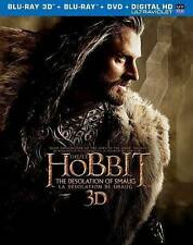 The Hobbit: The Desolation of Smaug (Blu-ray/DVD, 2014, 5-Disc Set, Canadian 3D)
