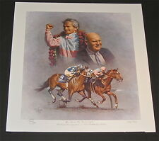 Fred Stone   - The Shoe & the Bald Eagle - Collectible Race Horse Fine Art Print