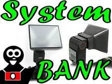Diffuseur Softbox pour les flashs externes Réglable Universable 133x116mm +MF