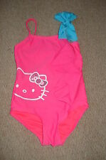 Girls Hello Kitty Swimsuit, Pink & Turquoise Age 4 Years