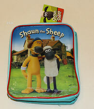 Shaun The Sheep Kids Printed Insulated Lunch Box Cooler Bag New