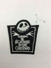Nightmare Before Christmas Tombstone Patch Iron On Applique Gothic Punk Horror