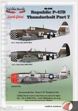 Lifelike Decals Republic P-47D Thunderbolt Part 7 1/48 decals