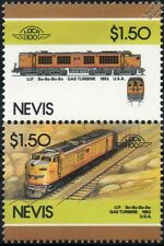1953 Up gtel N ° 59 (gas turbine-electric Locomotora Tren Sellos / Loco 100
