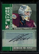 2008-09 ITG BTP Between the Pipes Future Stars Autograph  A-OP  Ondrej Pavelec