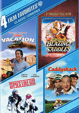 Classic Comedies: 4 Film Favorites (DVD, 2014, 4-Disc Set) Ships Fast!