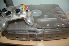 Microsoft Xbox Crystal Translucent Console with Xecuter Chip