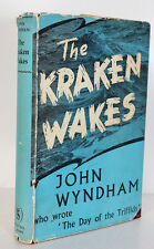 The Kraken Awakes John Wyndham 1st 1953 Triffids Science Fiction Weird