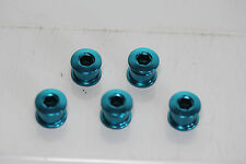 BMX Chainwheel Bolts Anodised Blue  Suits Takagi Sugino Old School Vintage