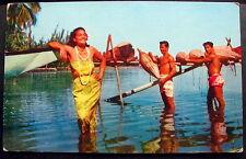 POLYNESIE FR CANCEL ON PC PAPEETE 1958 POLYNESIA