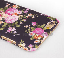 Floral 3D Vintage Flower Matte Hard Case Slim Cover for Apple iPhone 6+ Plus 5.5