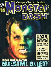 Monster Bash #23 Cprrey Classic Movies Fall 2014 Werewolf of London