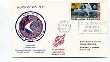 1971 Apollo 15 Scott Worden Irwin Cape Canaveral Florida Anniversary Space Cover