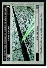 STAR WARS CCG A NEW HOPE BLACK BORDER DEATH STAR TRENCH