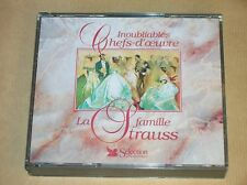 RARE COFFRET 3 CD / LA FAMILLE STRAUSS / READER'S DIGEST / EXCELLENT ETAT