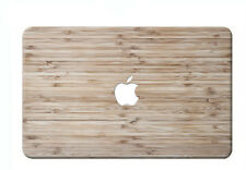 """Wood Print Rubberized Hard Case For new Macbook PRO 13""""(Touch Bar)/Older Pro 13"""