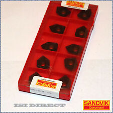 R245 12 T3 E-W 3220 SANDVIK*** 10 INSERTS *** FACTORY PACK ***