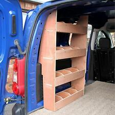 Peugeot Partner SWB Van Shelving Storage Racking Plywood Tool Shelves Ply Rack