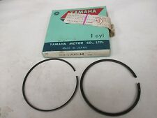 NOS Yamaha 1970-72 R5 1973-75 RD350 .25 Over Piston Rings 360-11610-12-00