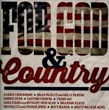 For God & Country by Various Artists (CD, Sep-2013, Provident Music)