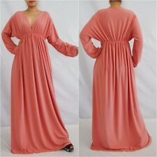 NWT Sexy Rose Pink Long Sleeve Maxi Dress Casual Cocktail Party Club Wear Sz 2XL